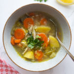 cozy chicken soup